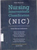 Nursing Interventions Classification ( NIC )